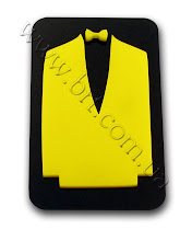 Photo: Тактильная табличка в туалет. Накладные элементы из цветного акрила