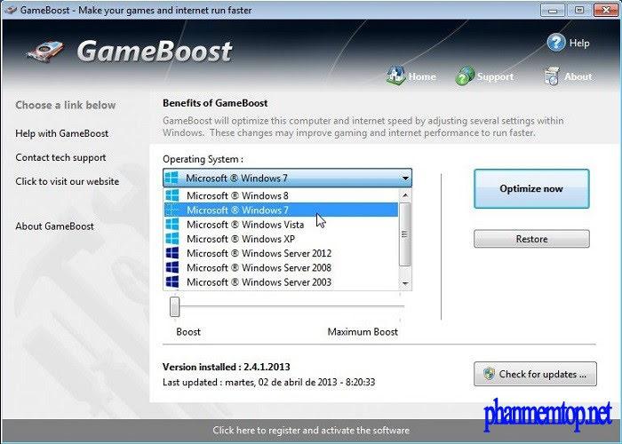 PGWare GameBoost Free Download
