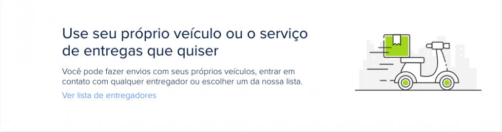 Banner do Mercado Envios Flex