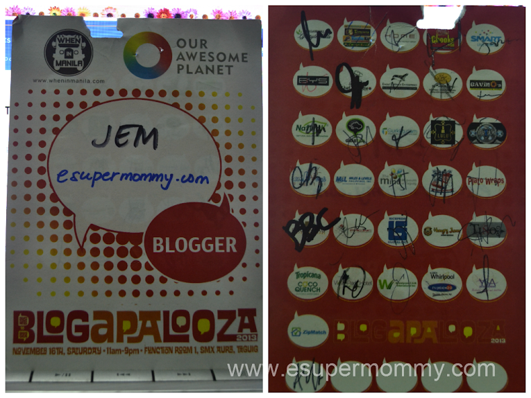 Blogapalooza 2013