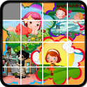 Cartoon Sliding Puzzle Game icon