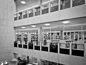 Photo: My new home away from home. Göteborgs nya stadsbibliotek/Gothenburg's New City Library.