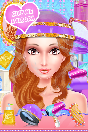 Fashion Braid Hairstyles Salon-girls games 7.8 screenshots 3