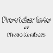 Provider Info of Phone Numbers