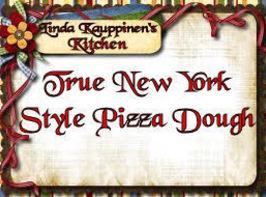 True New York Style Pizza Dough Recipe