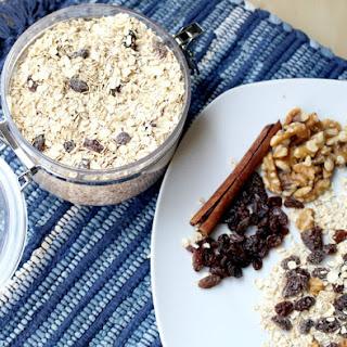 Cinnamon-Raisin Instant Oatmeal Mix