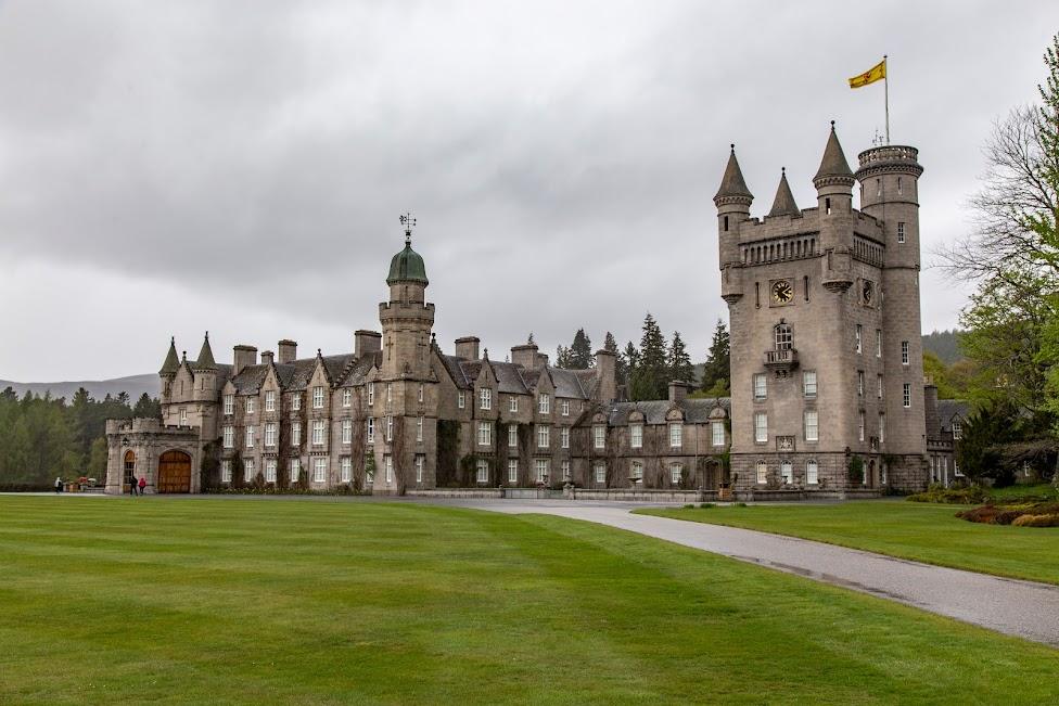 szkockie zamki, Balmoral Castle, Szkocja