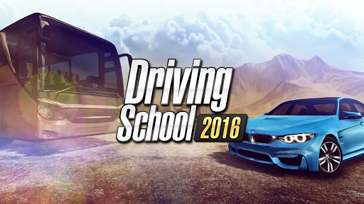 Driving School 2016 game (apk) free download for Android/PC/Windows screenshot