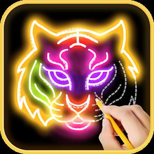 Learn to draw Glow Zoo
