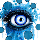 Beautiful Eyes : Look at me Live wallpaper free icon
