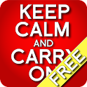 Keep Calm and Carry On (Free) icon