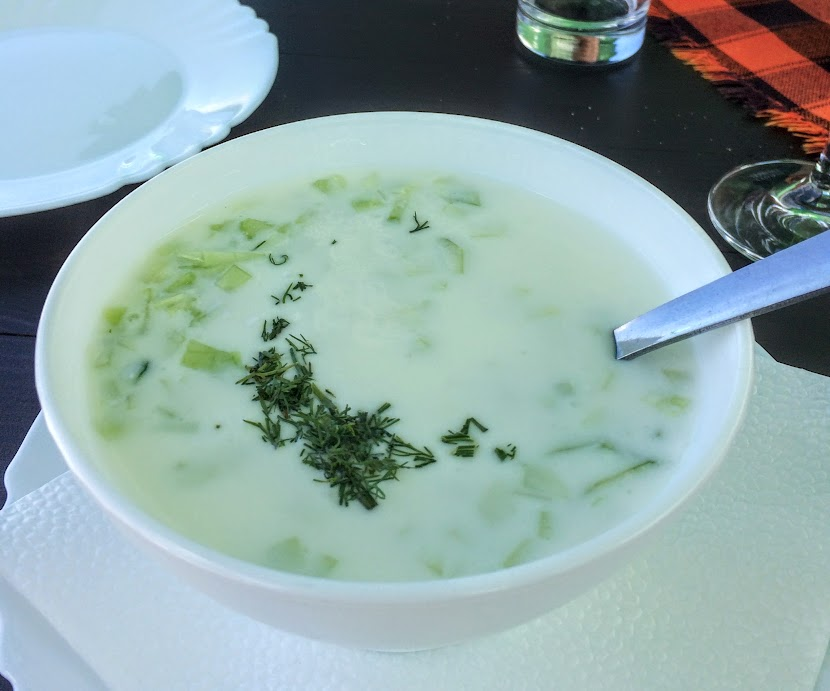 Cold soup? Perfect for summer but it took some getting used to.