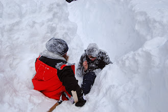 Photo: Snow Caving Photos #6