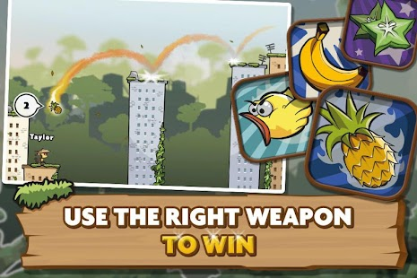 Monkey Duel: Turn-Based Shoot- screenshot thumbnail
