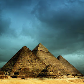 Les Pyramides by Gerico Canlapan - Landscapes Deserts ( gerico canlapan )