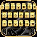 Black Gold Silky Keyboard Theme icon