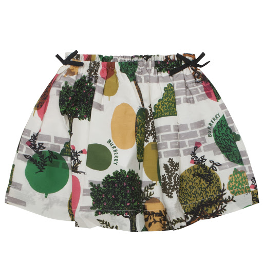 Primary image of Burberry Garden Print Skirt