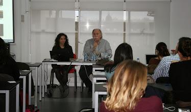 Photo: Mª José Díaz López (Maco) Gestora Cultural  Javier López-Roberts Creus Subdirector del Círculo de Bellas Artes de Madrid @cbamadrid