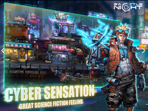 Battle Night: Cyber Squad-Idle RPG apkpoly screenshots 18