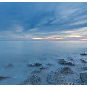 Sekinchan Sunset  by Coolvin Tan - Landscapes Sunsets & Sunrises