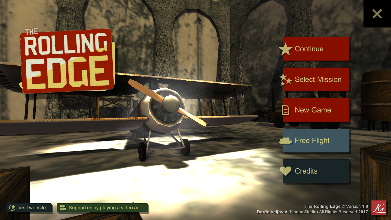 The Rolling Edge - Flight Sim- screenshot