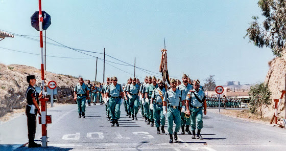 La Legión cumple 25 años en Almería