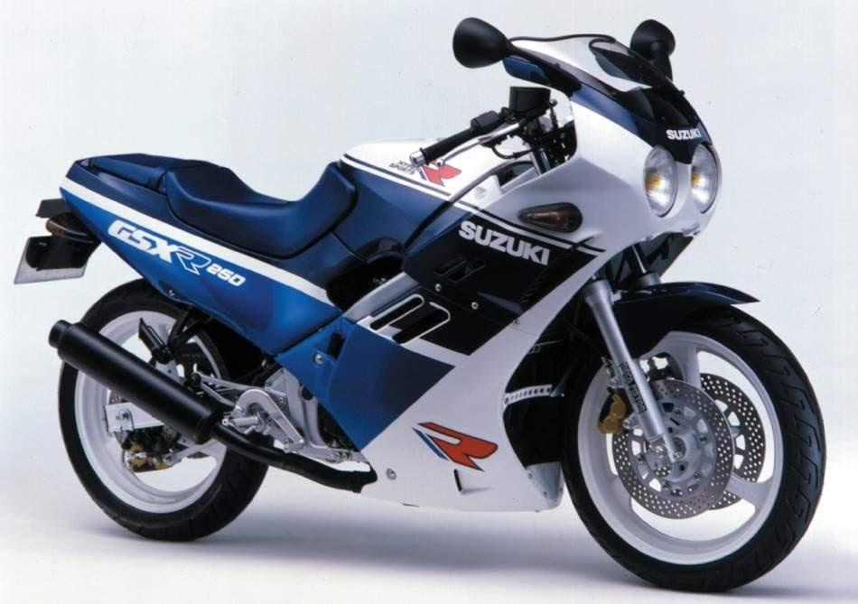 suzuki GSX - R 250-manual-taller-despiece-mecanica