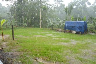 Photo: ...und es hatte erst kurz zuvor angefangen zu regnen!