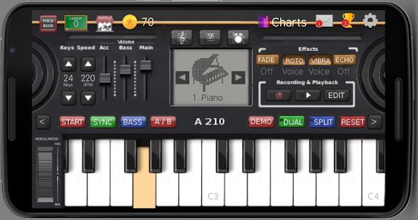 Music Keyboard - náhled