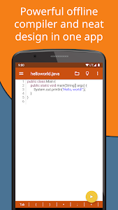 Jvdroid - Educational IDE for Java 1 0 + (AdFree) APK for