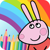 Pepy Pig Painting Color