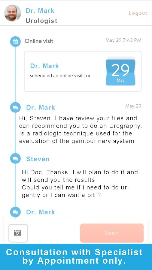 doctor chatroom
