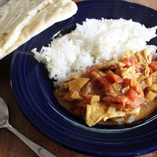 Crock Pot Tomato Chicken Tikka.