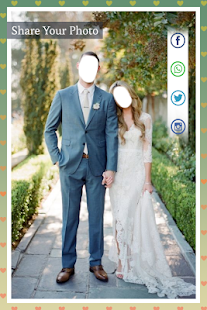 Wedding Couple photo suit - náhled