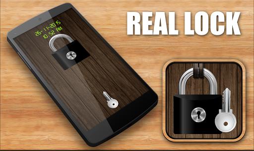 Real Lock screen-simulation