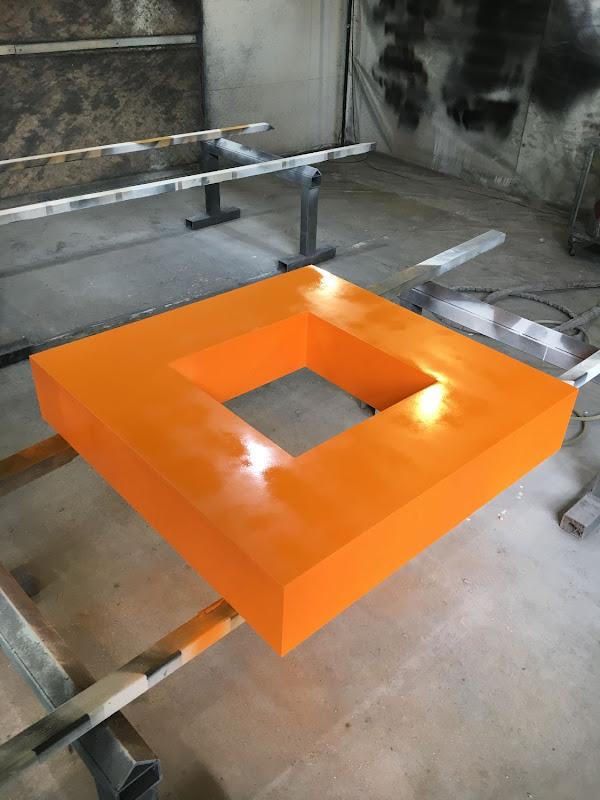 3D letters & logo's uit EPS en XPS - 3D logo Orange