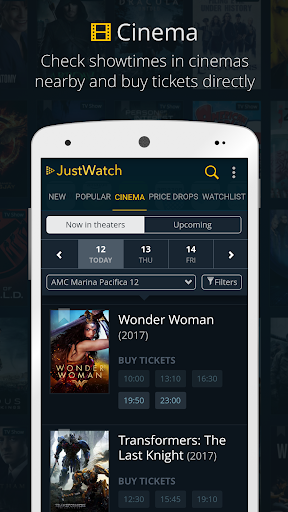 JustWatch - Search Engine for Streaming and Cinema 0.22.3 screenshots 2