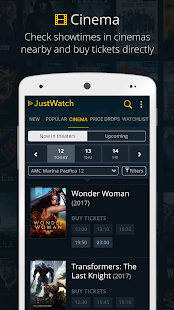 JustWatch - Guide for Cinema, Netflix, Hulu & more- screenshot thumbnail