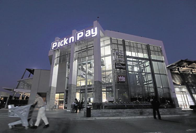 Pick n Pay on Nicol in Hurlingham, Johannesburg.
