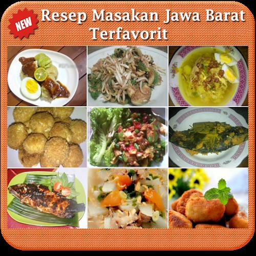 Resep Masakan Jawa Barat Android App Screenshot