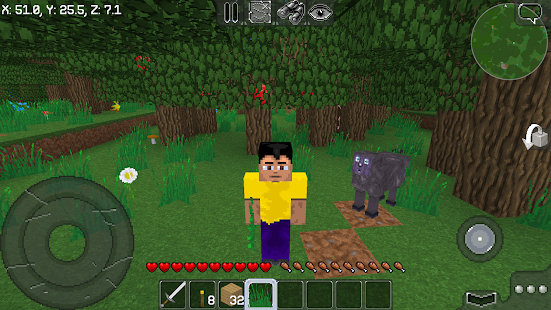 Download MultiCraft ― Build and Mine!  apk screenshot 1