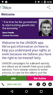UNISON App- screenshot thumbnail