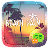 (FREE) GO SMS BEACH PALM THEME