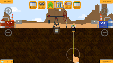 Petroleum - Explore, drill & sell! APK screenshot thumbnail 1