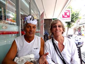 Photo: 2 - UBUD Jocelyne et son copain de rencontre