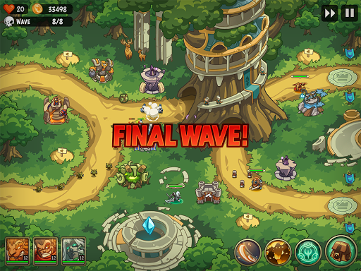 Tower Defense Crush: Empire Warriors TD - screenshot