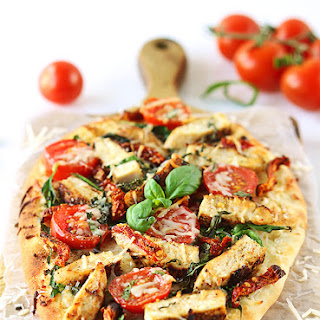Spinach Florentine Flatbread Recipes