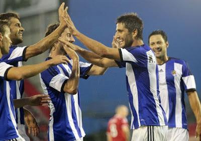 Januzaj à l'assist et la Real Sociedad prend provisoirement la tête de la Liga