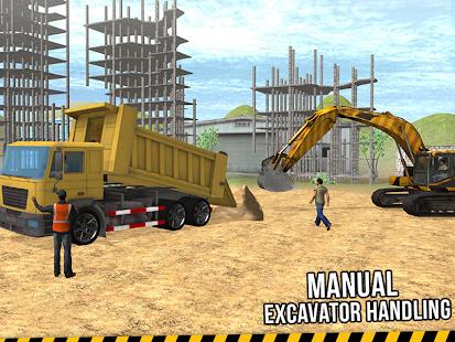 Excavator Crane Simulator 3D - náhled