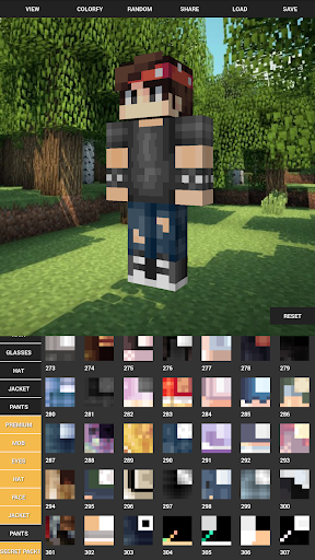 Custom Skin Creator For Minecraft 5.6 screenshots 5